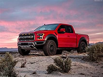 Amazon Com Ford F 150 Raptor 2019 Poster 18 X 24 Ford F
