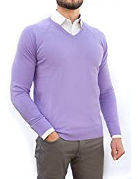Men's Perfect Slim Fit V-Neck Sweater