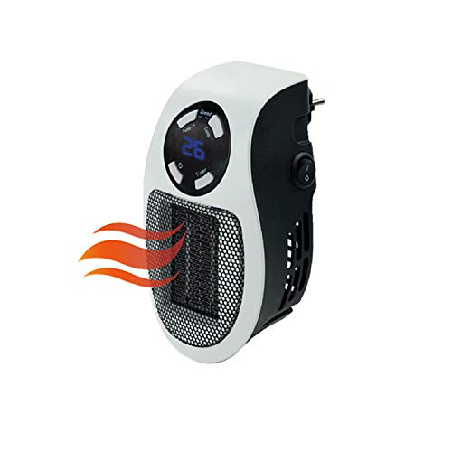 Portable Space Heater 600W Mini Electric Fan Heater Wall Timing Stove Radiator -