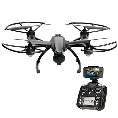 RC Drone,KINGBOT JXD509G FPV VR Wifi RC Quadcopter with 2MP Camera and Altitude Hold Headless Mode 3D Rolling Functions Remote Control Helicopters