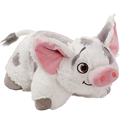 Pillow Pets Pu'a Disney Moana - Stuffed Plush Toy for Sleep, Play, Travel, and Comfort - Great for Boys and Girls of All Ages - Soft and Washable