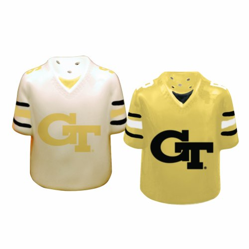 Georiga Tech Yellowjackets Gameday Salt and Pepper Shaker Tech Game Day Ceramic