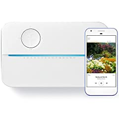 The Rachio 3 Smart Sprinkler Controller raises the smart watering bar with foolproof installation, dual-band Wi-Fi and an expressive light bar. Rachio 3 is the only controller equipped with hyperlocal Weather Intelligence™ Plus and Rachio Wir...
