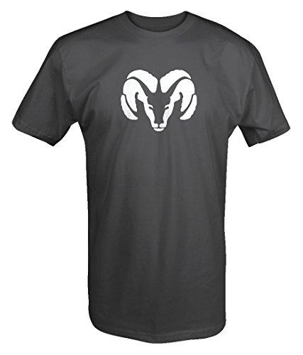 Dodge Truck Ram Head Hemi Heavy Duty T shirt - Large