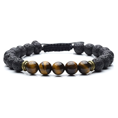 Healing Crystal Bracelet Diffuser Protection