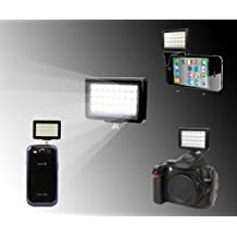 Polaroid 32 LED Video Light For SLR Cameras, Camcorders, Cell Phones, Tablets and More