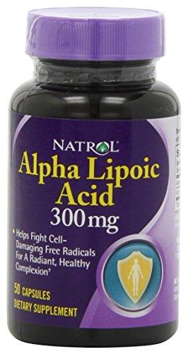 Natrol Alpha Lipoic Capsule Count