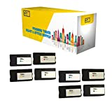 New York Toner New Compatible 8 Pack F6U19AN L0S61AN L0S64AN L0S67AN 952XL BK C M Y High Yield Inkjet For HP OfficeJet Pro 7740, 8200, 8210, 8216 . -- Black Cyan Magenta Yellow