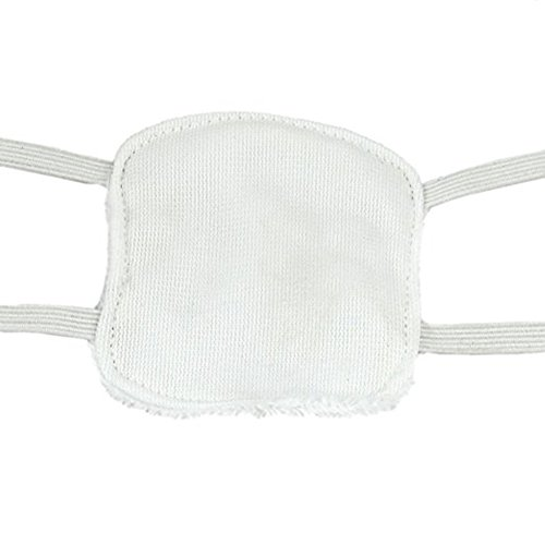 WISDOMTOY Unisex Holiday Halloween Party White Eyeshade Eyepatch Cosplay Props Toy by WISDOMTOY (Image #3)