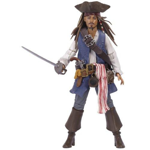 (Pirates Of The Caribbean Basic Figure Wave #1 Jack Sparrow V1P4)