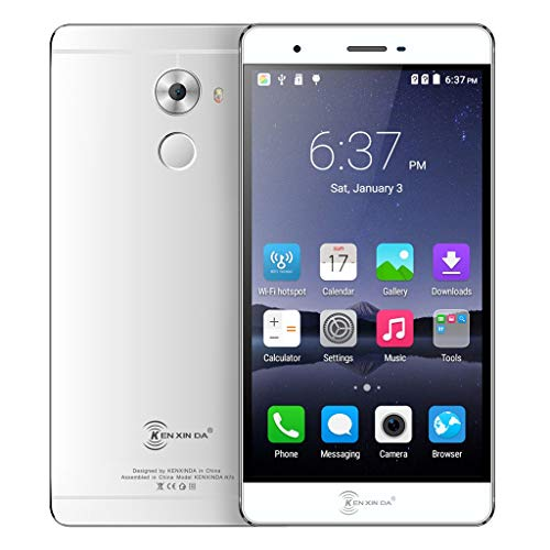 Price comparison product image MChoiceKENXINDA R7S 5.5Inch MTK6753 2+16G 2650mAh WiFi GPS Smartphone Cellphone US (Silver)