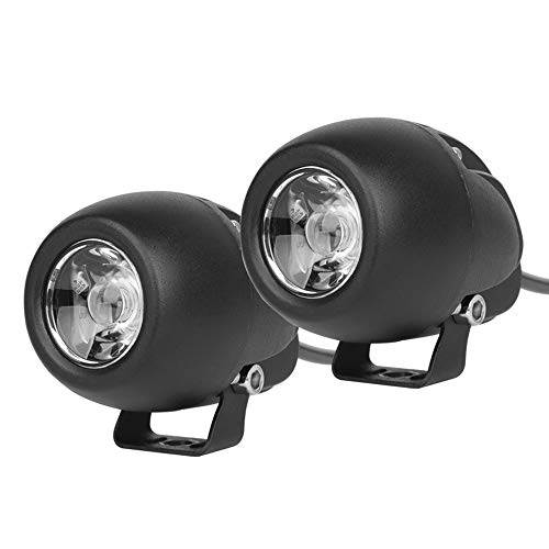 "AutoTime LED Driving Lights 2 Pack 2.7"" 40W Fog Lights New Upgrade Spot Flood Combo Beam 6000K 6000lm White Round Small Led Pods Waterproof for Motorcycle Offroad Trucks SUV ATV UTV Boat"