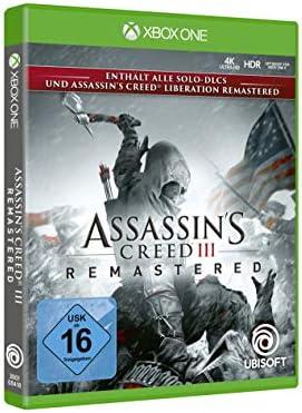 Assassins Creed III Remastered - Xbox One [Importación alemana ...