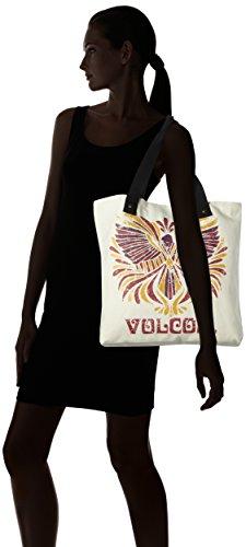 Shore Handtasche Multicolore Volcom Donna Thang Natural Damen cartella Tote Zqnd1g