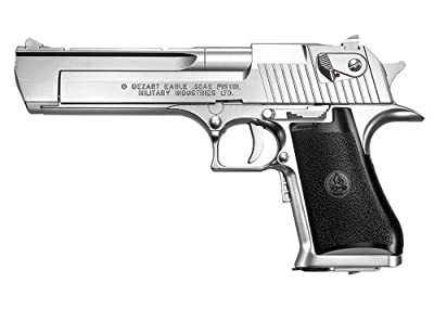 No6 Desert Eagle 50AE Silver (electric blow back 10 years or more)