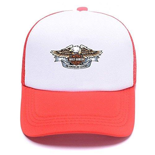 Cap Harley 008 de Boy Women Trucker For Caps Baseball D Red Hat Black béisbol Mesh Gorras Girl Men awngqva6r