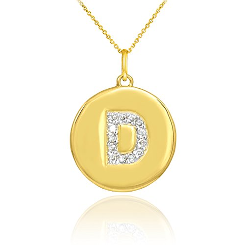 10k Yellow Gold Initial