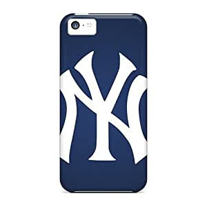 New HHY3772QgtU New York Yankees Skin Cases Covers Shatterproof Cases For Iphone 5c