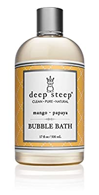 Deep Steep All Natural, Bubble Bath - Gluten Free, Non-GMO