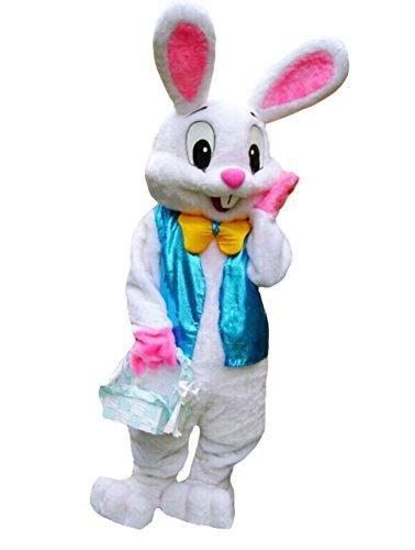 huiyankej HYKJ Bunny Mascot Costume Easter Bunny Costume Adult (Bunny Mascot Adult Costume)