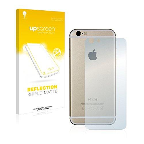 upscreen Scratch Shield Pellicola Protettiva Opaca Apple iPhone 6S Posteriore (intera superficie) Protezione Schermo – Antiriflesso, Anti-Impronte