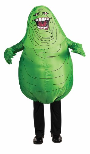 Ghostbusters Inflatable Slimer Costume - Standard (Book Costumes For Adults)