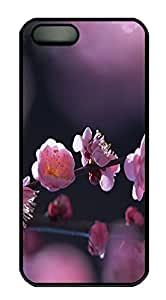 iPhone 6 4.7 Case Cool Spring Flower PC Custom iPhone 6 4.7 Case Cover Black
