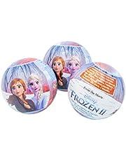 Disney Frozen Set Accesorios con Reloj en Bola 2 Cestas de Regalo Muebles Pegatinas Decoración del hogar Unisex Adulto, Multicolor (Multicolor), única