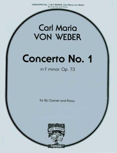 - Clarinet Concerto No. 1 in f minor, Op. 73