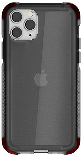 """Ghostek Covert Designed for iPhone 11 Pro Max Case Clear Slim Bumper (6.5"""" Screen) Tough Ultra Thin Silicone Shockproof Bumper Wireless Charging Compatible 2019 Apple iPhone 11 Pro Max (6.5"""") - Smoke"""