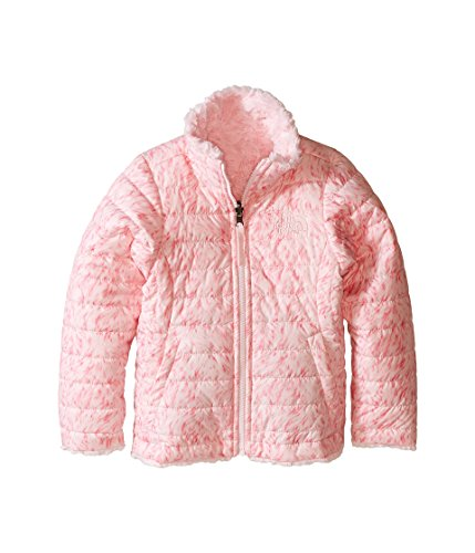 The North Face Kids Girl's Reversible Mossbud Swirl Jacket (Little Kids/Big Kids) Coy Pink Fur Print (Prior Season) ()