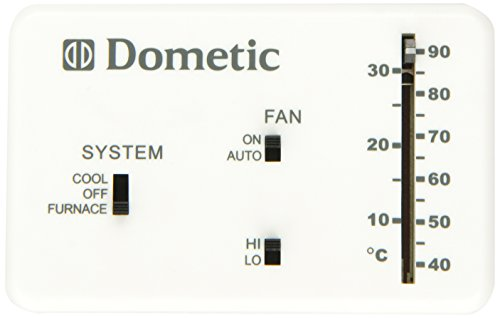 Dometic Analog Wall Thermostat Only Polar White