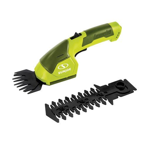 (Sun Joe HJ605CC Cordless 2-in-1 Grass Shear + Hedge Trimmer w/Extension)
