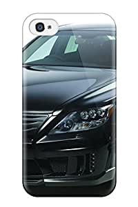 Hot HhCUsGS12168mgBCz Case Cover Protector For Iphone 4/4s- 2010 Wald Lexus Ls600h Black Bison