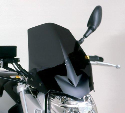 Dunkelgrau Rauch Puig 4117F Windschutzscheibe speziell Suzuki GSR 06-11 Transparent