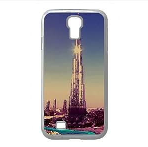 Burj Khalifa Watercolor style Cover Samsung Galaxy S4 I9500 Case (United Arab Emirates Watercolor style Cover Samsung Galaxy S4 I9500 Case)
