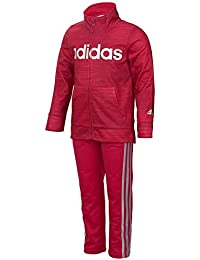 adidas girls. baby girls\u0027 zip jacket and pant set adidas girls l