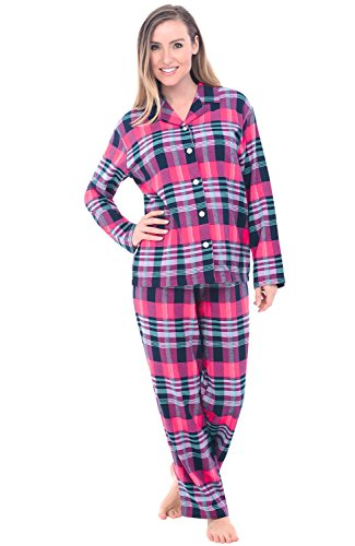 Del Rossa Womens Flannel Pajamas product image