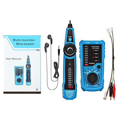 Magnificent Wire Tracker Elegiant Rj11 Rj45 Cable Tester Line Finder Import Wiring 101 Cominwise Assnl