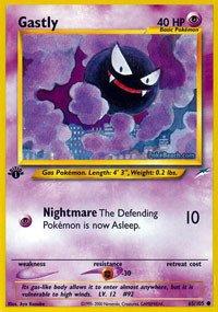 Pokemon - Gastly (65) - Neo Destiny ()