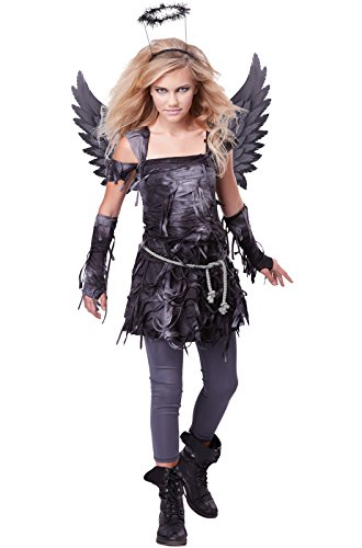 California Costumes Spooky Angel Tween Costume, -