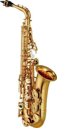 Yamaha YAS-480 Intermediate Eb Alto Saxophone, Gold Finish