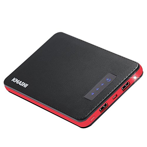 KMASHI 20000mAh Quick Charge 2.0 Portable Charger External Battery Power Bank Fast Charger