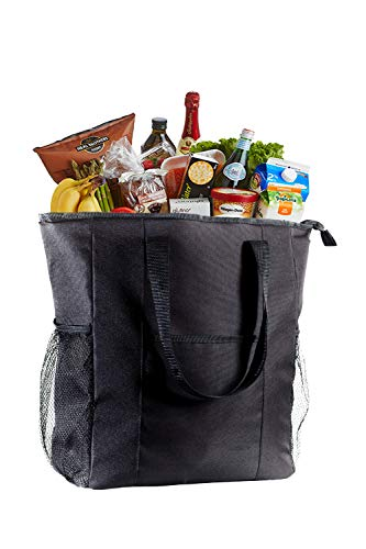 - VENO Jumbo ChillOut Thermal Tote, XL Insulated Bag for Grocery Shopping /Entertaining, Transport Hot and Cold Food