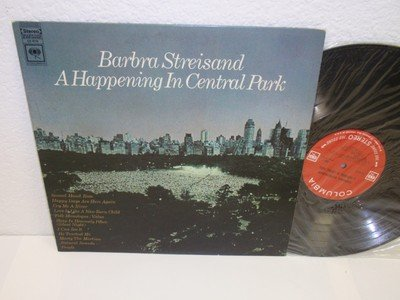 BARBARA STREISAND A Happening In Central Park LP Columbia CS-9710 SEALED - Outlets In Me