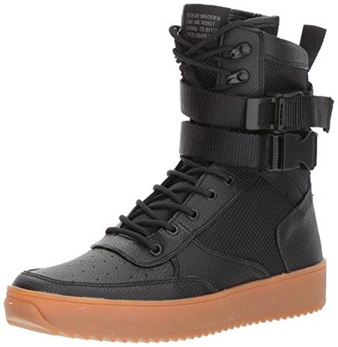 Steve Madden Men's Zeroday Sneaker, Black, 9 M