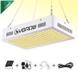 YGROW 1500W LED Grow Light Full Spectrum Grow Lamp with Daisy Chained Design