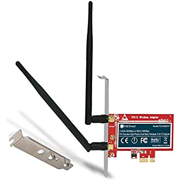 Amazon.com: ZEXMTE Wireless Network Card AC1200Mbps PCIe ...