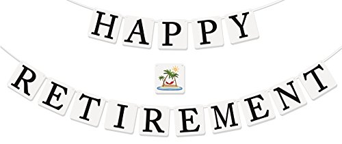 "[""Happy Retirement"" Banner - Retirement Party Supplies, Gifts and Decorations by Sterling James] (Police Chief Child Hat)"