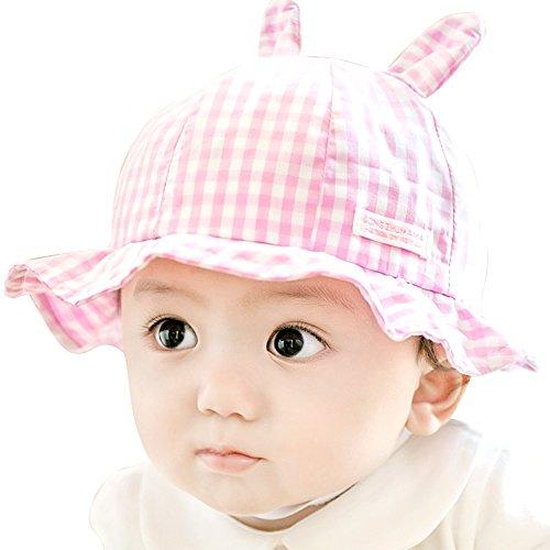 top IMLECK Unisex Baby Cute Fashionable Cartoon Rabbit Ear Sun Hat